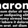 Aharoni Font Family