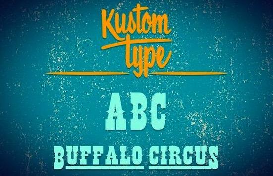 Buffalo Circus Serif font