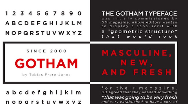 Gotham Font Family download