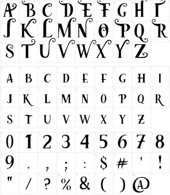 Mermaid font free