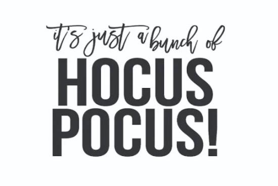 Hocus Pocus font free