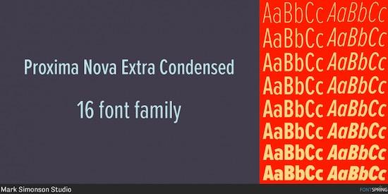 Proxima Nova font download