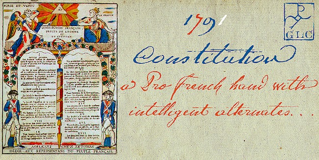 1791 Constitution font
