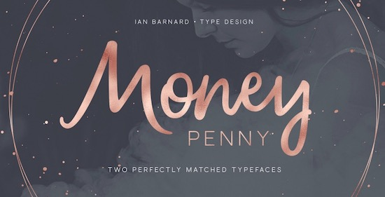 Money Penny font download