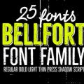 Bellfort font